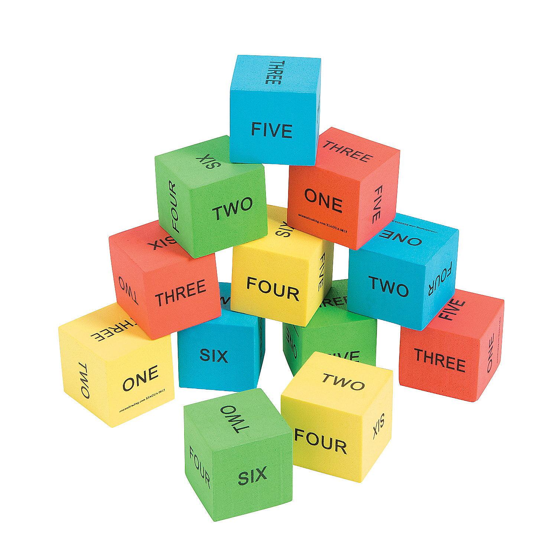 IN-13719262 Spelling Math Dice Per Dozen