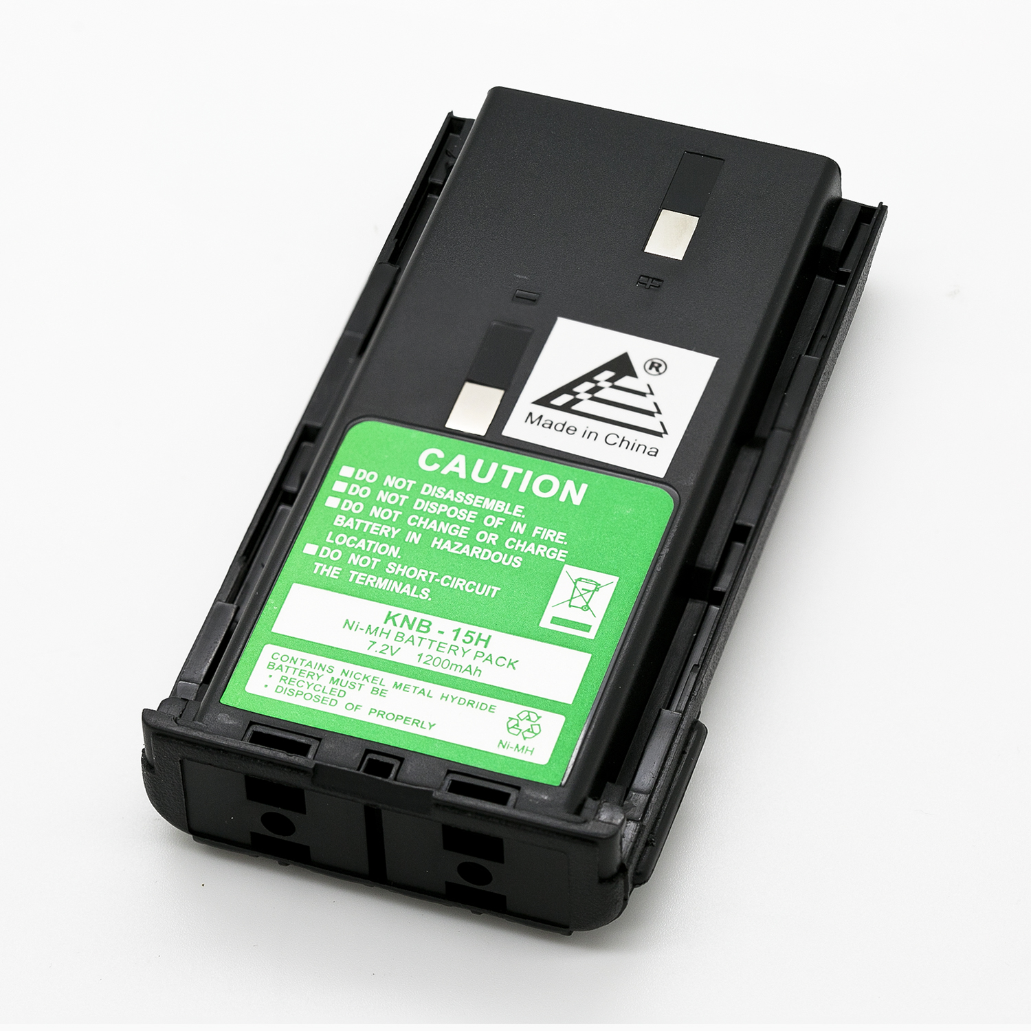 7.2v 1200mAh Ni MH  KNB-14A KNB-15A Replacement Battery(MSDS Certified Cells) for KENWOOD KNB-14 KNB-15  KNB-15A TK-260 TK-360 TK-270 TK-370 TK-272 TK-372 TK-2100 TK-3100 Portable  Radio