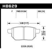 Hawk 08-11 Scion xB / 09-10 Toyota Corolla / 09-10 Matrix / 10 Prius HPS Street Rear Brake Pads