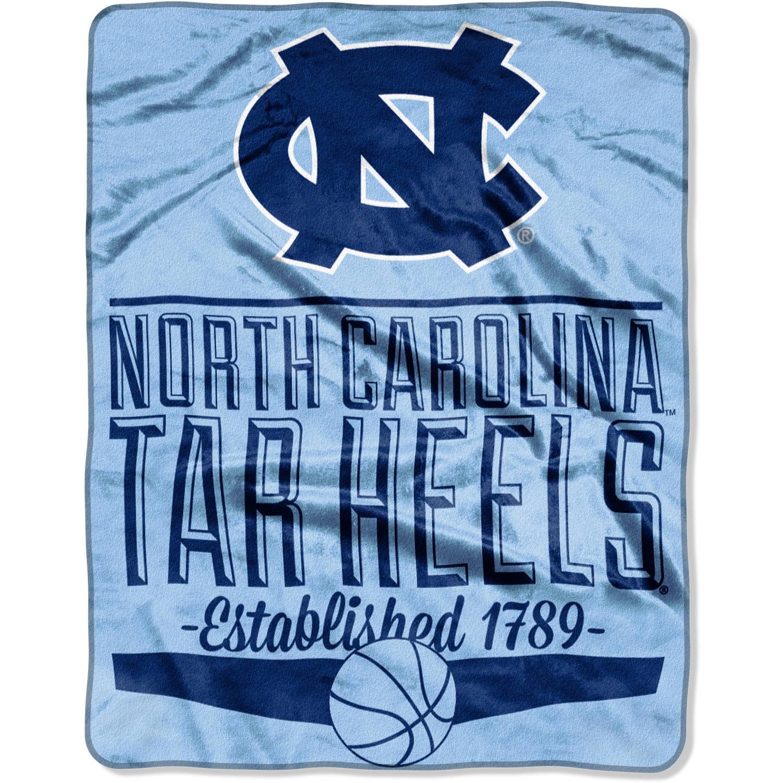 """NCAA North Carolina Tar Heels 55"""" x 70"""" Silk Touch Throw"""