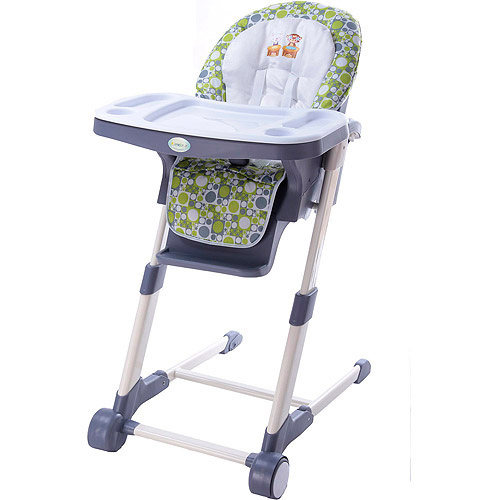 Dream on Me Ellispe High Chair, Blue