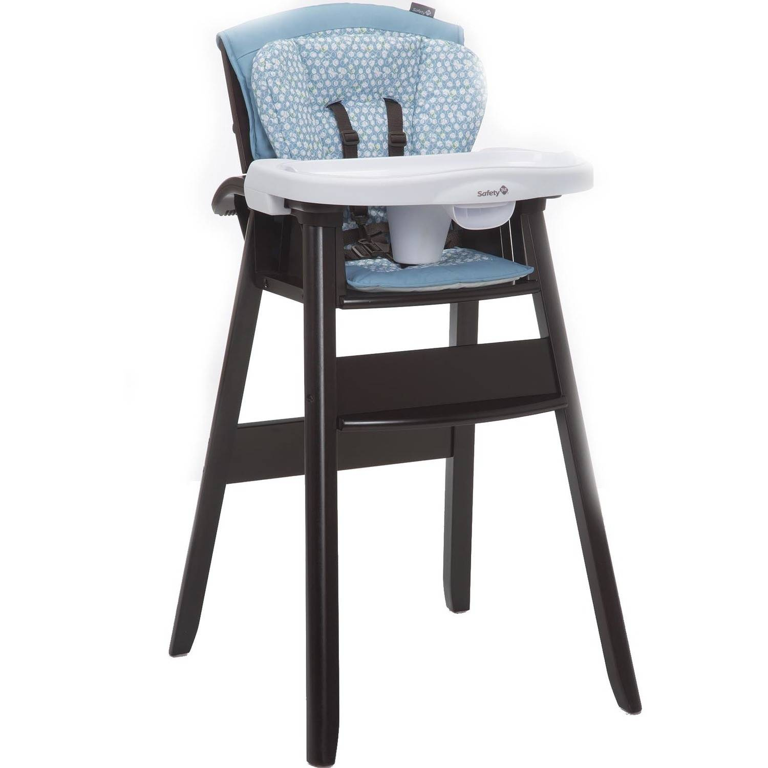 Safety 1st Dine and Recline Wood High Chair, Luminary