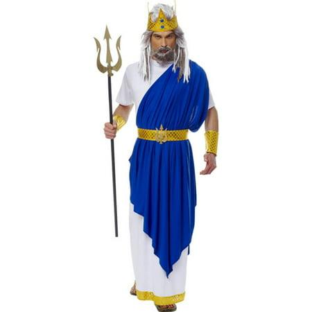 Neptune Roman God Adult Costume (Greek God Costumes)