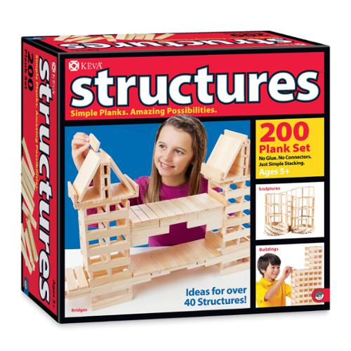 KEVA Structures 200 Plank Set