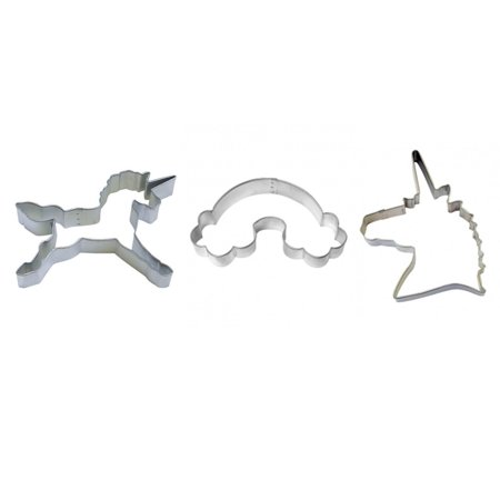 Unicorn Cookie Cutter Set - Unicorn Head 4.75