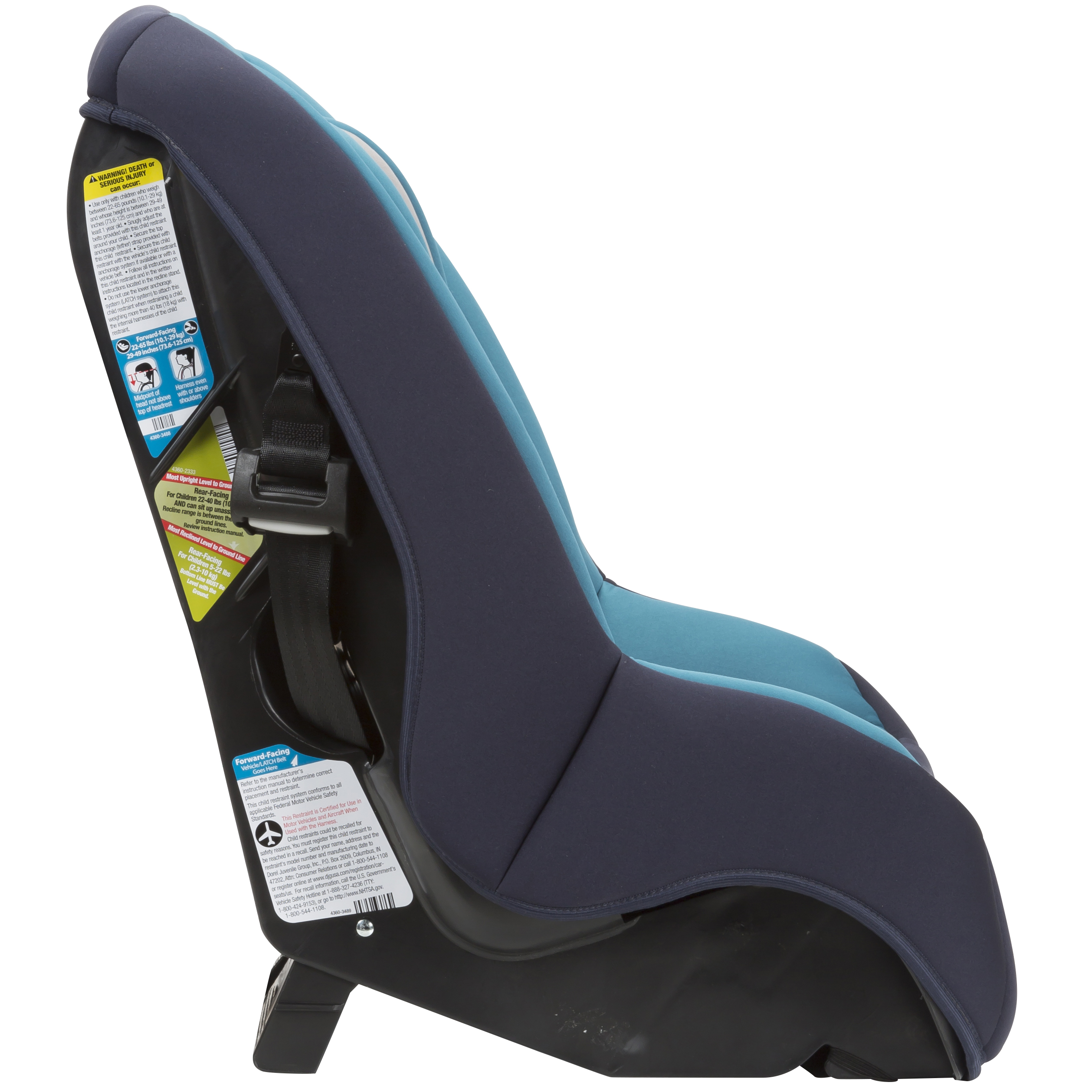 cosco mightyfit 65 convertible car seat choose your pattern ebay. Black Bedroom Furniture Sets. Home Design Ideas