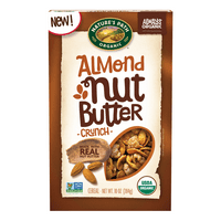 Nature's Path Organic Breakfast Cereal, Nut Butter Almond Crunch, 10 Oz