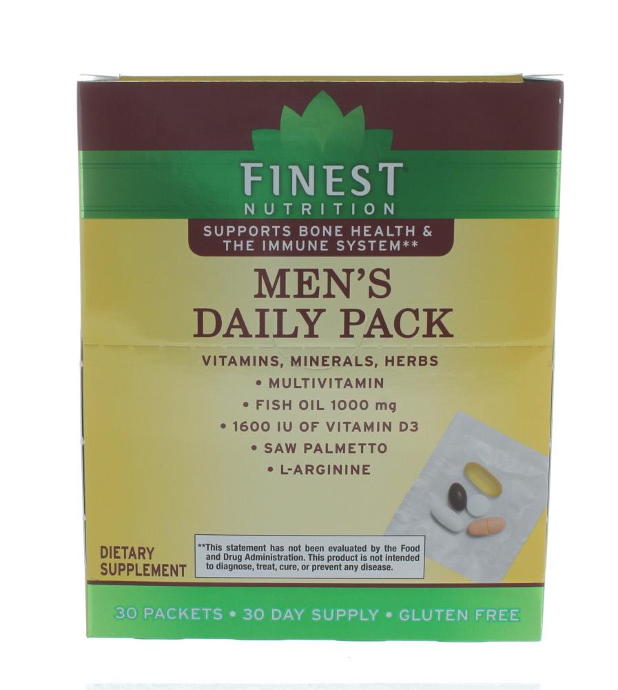 Upc 311917138336 Finest Nutrition Men S Daily Packs