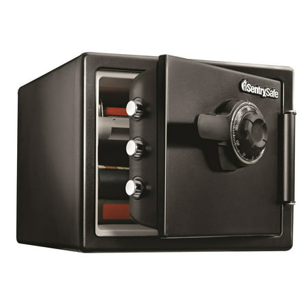 SentrySafe Fire and Water Safe, Large Combination Safe, 0.8 Cubic Feet, SFW082CTB ()