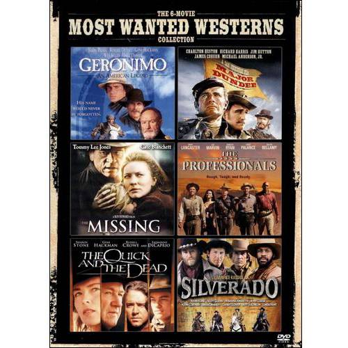 The 6-Movie Most Wanted Westerns Collection: Geronimo / Major Dundee / The Missing / The Professionals / The Quick And The Dead / Silverado (With INSTAWATCH)
