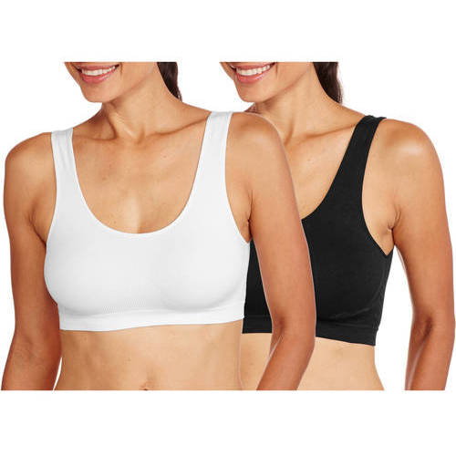 Nurture by Lamaze Seamless Super Stretch Comfort Maternity Bra--Perfect for Growing Body, 2-Pack Value Bundle