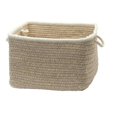 Colonial Mills NS43A018X018S 18 x 18 x 12 in. Natural Style Muslin Rectangular Basket - image 1 of 1