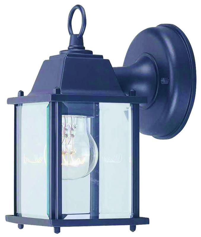 Boston Harbor AL1037-53L Lantern Small Porch Light Fixture, Medium, 60 W, 1 Lamp by Mintcraft