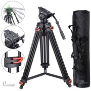 """Best Video Tripods - Yescom 71"""" Professional Camera Tripod Portable DV Live Review"""