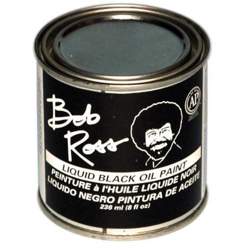 Bob Ross Oil 7 oz. Liquid Black