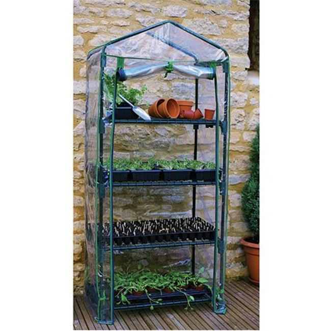 Gardman R687 4-Tier Mini Greenhouse 19 x 27 x 63