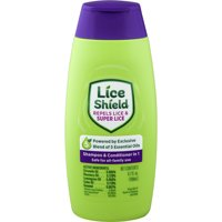 Lice Shield Shampoo & Conditioner Repels Lice and Super Lice, 6.7 Oz