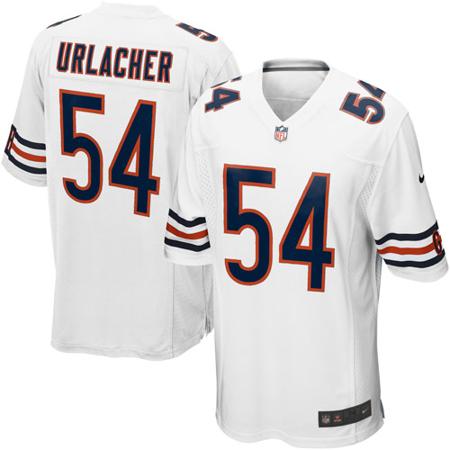 Brian Urlacher Chicago Bears Nike Game Jersey - White
