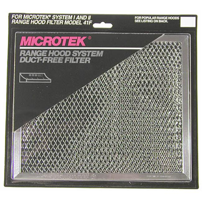 Broan/nautilus 41F Ductless Range Hood Grease Filter