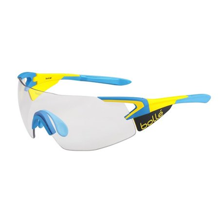 Bolle 5th Element Pro Matte Yellow/Blue with Modulator Clear Gray oleo AF Lens Sunglasses Modulator Gray Lens