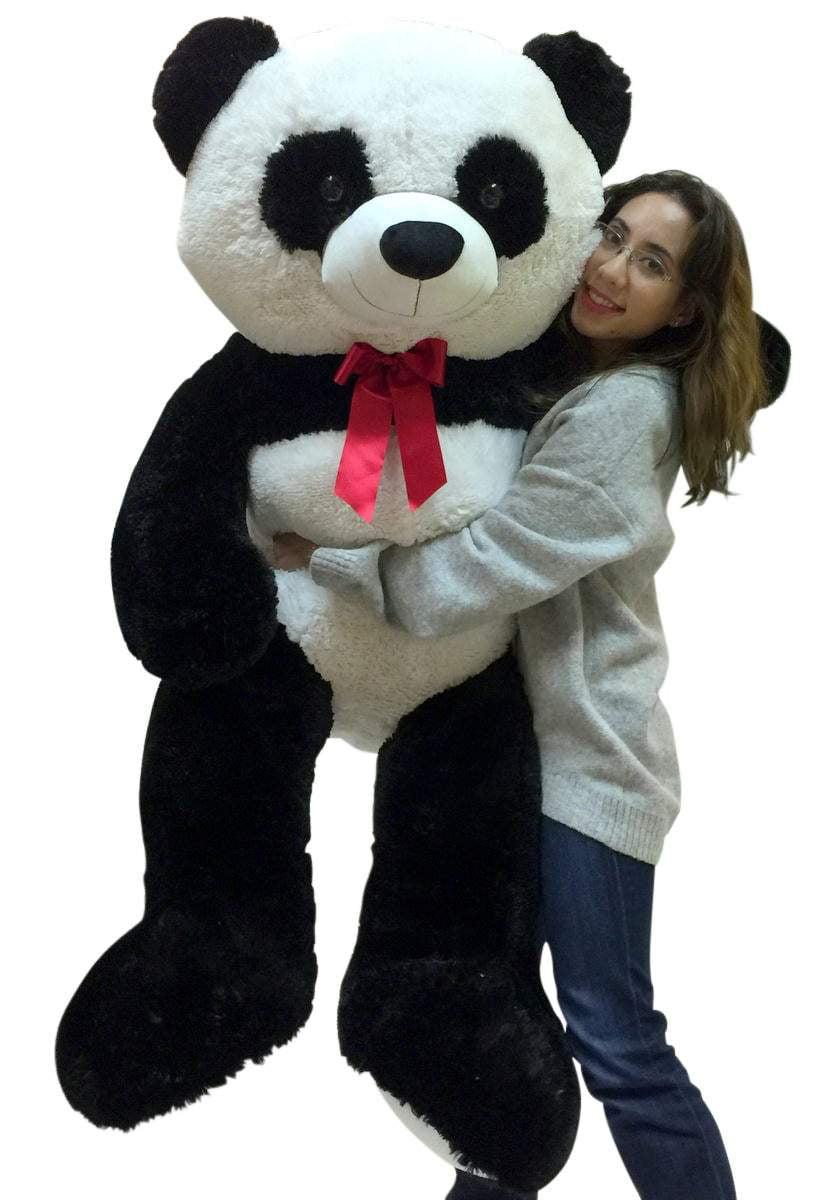 5 Foot Giant Stuffed Panda Soft 60 Inch Big Plush Premium Teddy Bear by BigPlush