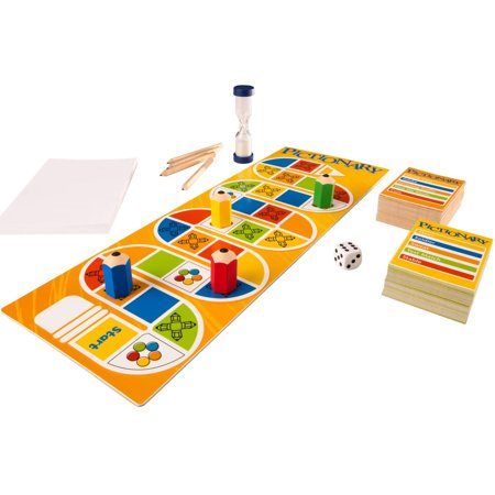 Pictionary Board Game with Adult & Junior Clue Levels for Ages 8Y+ - Clue Board