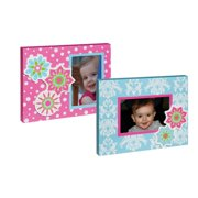 Blossom and Buds 2 Piece Flower Wooden Picture Frame Set (Set of 2)