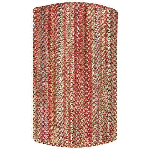 Capel Rugs Ocracoke Red Variegated Area Rug