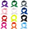 12 PCS Elastic Baby Girls Headbands Rabbit Ear Hairband Bow Headwarp Hair Accessories for Newborn Toddler Kids