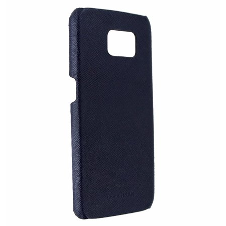Marine Hatch Covers - Cole Haan Cross-Hatch Leather Case Cover for Samsung Galaxy S6 - Marine Blue (Refurbished)