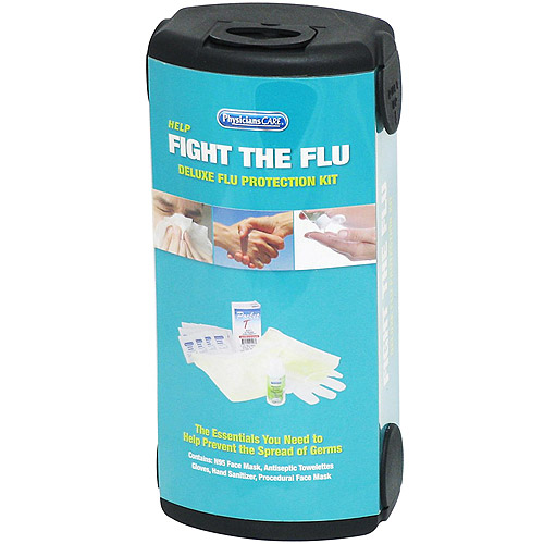Physicians Care 5pc Emergency Fight the Flu First Aid Kit