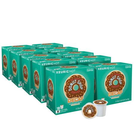 Product of The Original Donut Shop Decaf Medium Roast Coffee Keurig Single-Serve K-Cup Pods, 180 ct. [Biz Discount] (Keurig Coffee 180 Count)