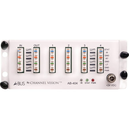 Channel Vision A-BUS Audio Distribution Hub, 1 Source/4 Zones