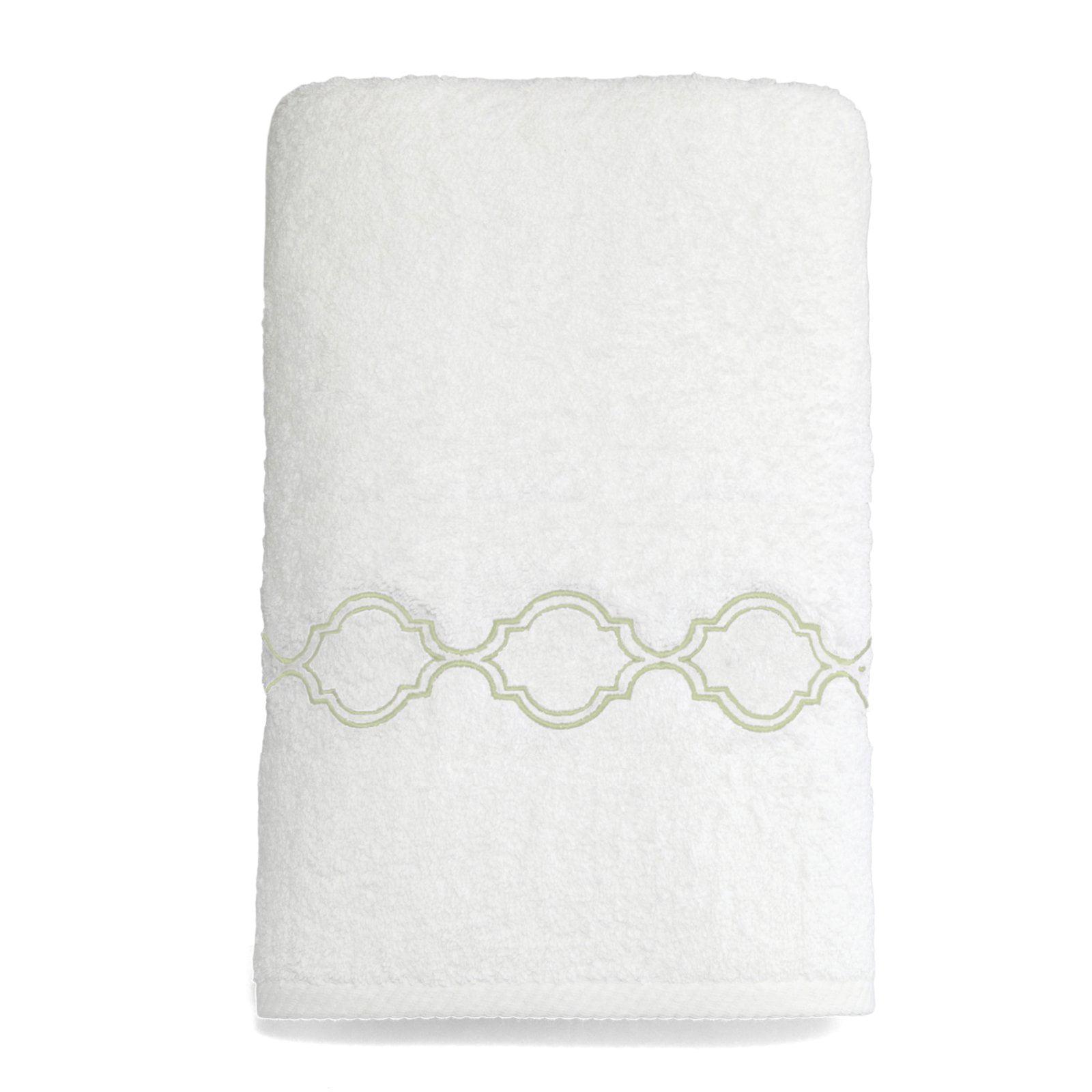 Linum Home Soft Twist Trellis Bath Towel by Linum Home Textiles LLC