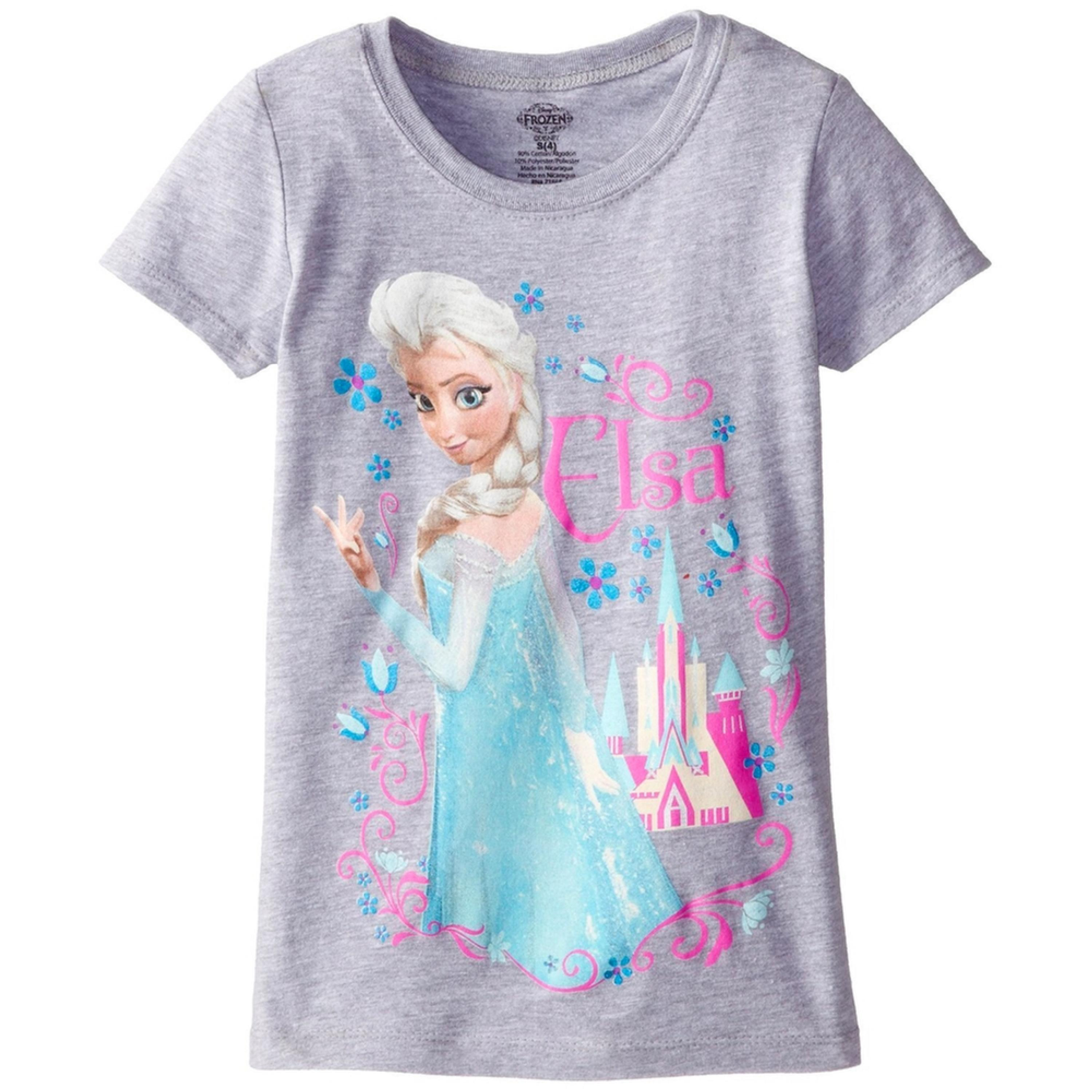 Frozen - Elsa Castle Girls Juvy T-Shirt