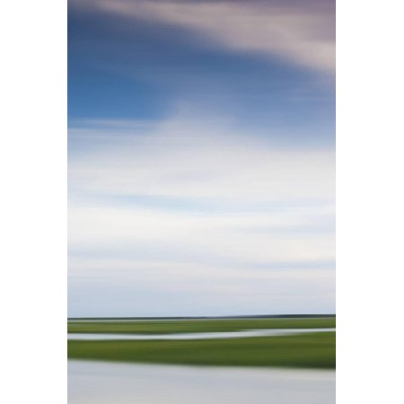 Massachusetts, Cape Cod, Provincetown, the West End, Marshes Print Wall Art By Walter