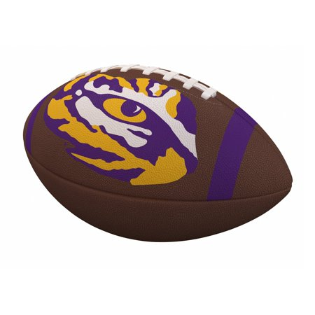 LSU Tigers Team Stripe Official-Size Composite Football ()