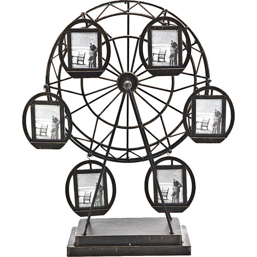 Philip Whitney Ferris Wheel Rotating Picture Frame