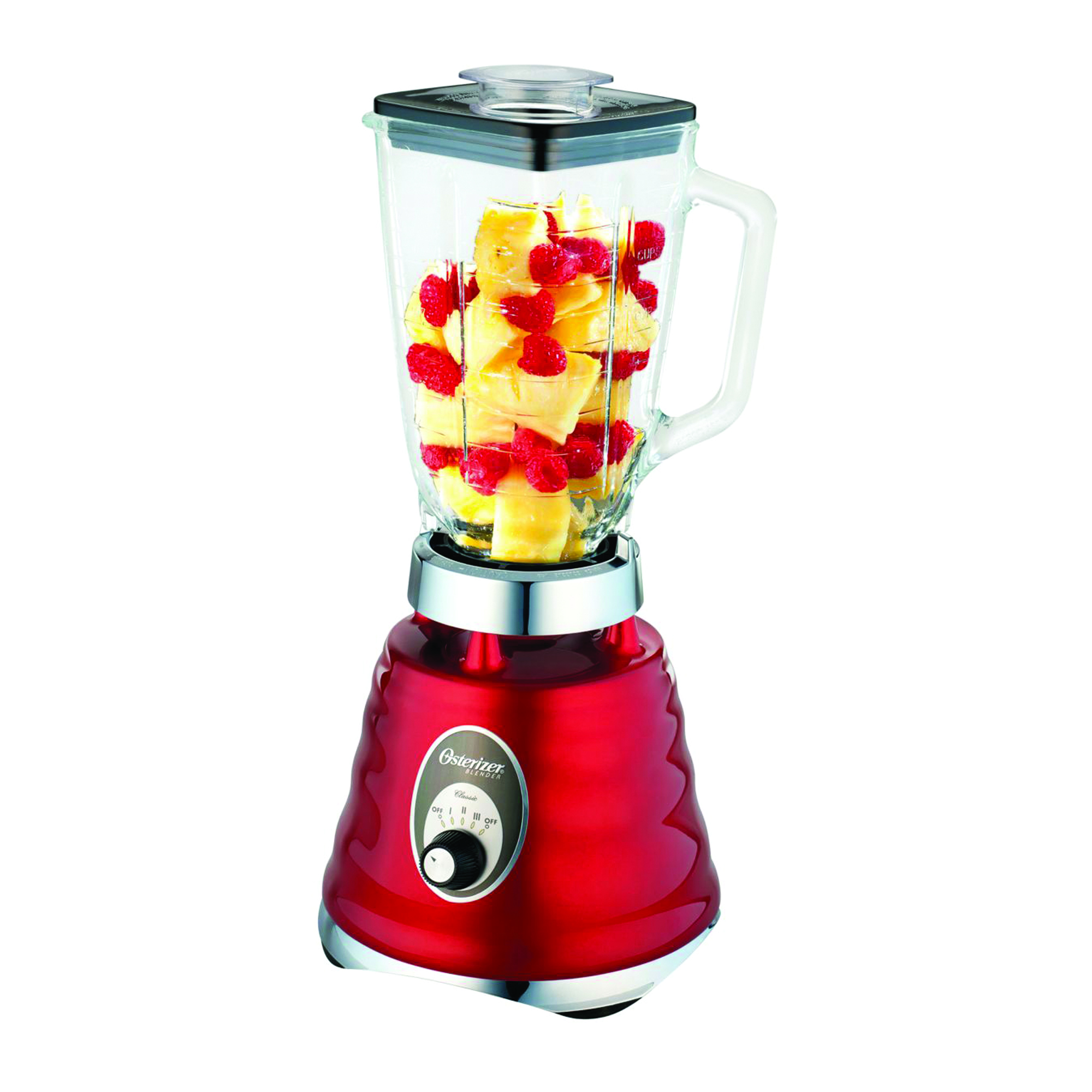 OSTER 4126 Red 3-Speed Blender 220-240 Volts 50Hz Export Only