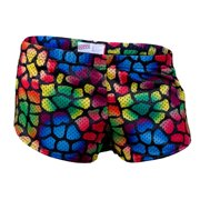 Soffe 461VPR974XLG Junior Mesh Print Teeny Tiny Short, Reptile - Extra Large