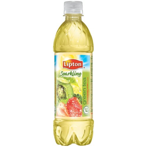 Lipton Sparkling Strawberry Kiwi Green Tea, 12pk