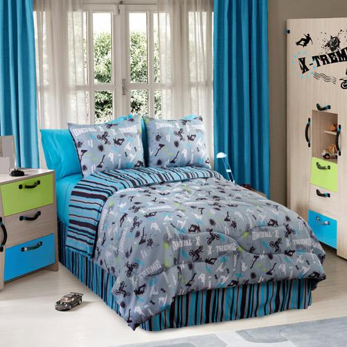 Veratex, Inc. On the Edge Reversible Comforter Set