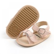 Infant Baby Girls Boys Sandals Summer Anti-Slip Outdoor Crib Shoes Infant Toddler Flats First Walkers Shoes