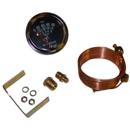 80Lb Oil Pressure Gauge For Massey Ferguson Tractor Mechanical
