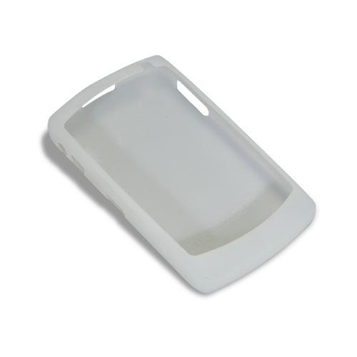 RIM HDW-13751-002 Rubber Cell Phone Skin - For Blackberry 8800, White