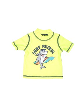 Pre-Owned Carter's Boy's Size 3 Mo Rash Guard