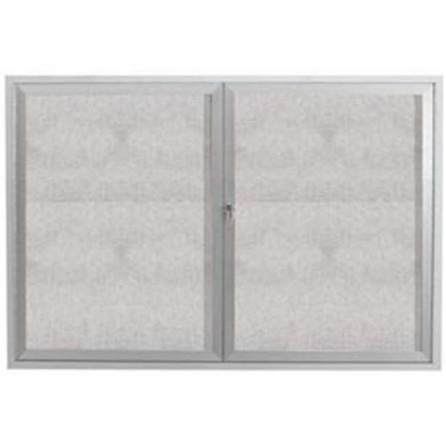 Aarco Products ODCC3648R 48 in. W x 36 in. H Outdoor Enclosed Bulletin Board