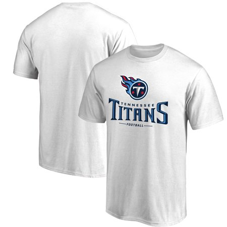 Tennessee Titans NFL Pro Line Team Lockup T-Shirt - White