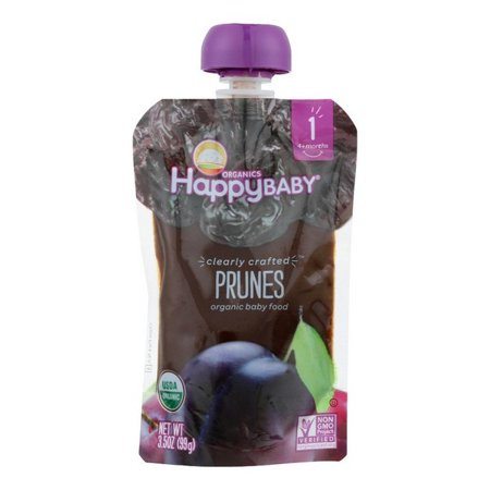 Happy Baby Happy Baby Clearly Crafted   Apples   Kale And Avocados   Case Of 16   3 5 Oz
