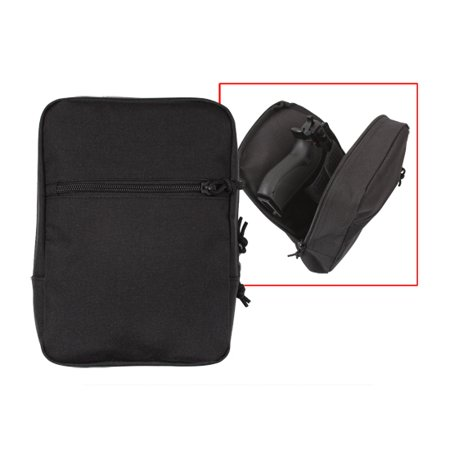 Rothco Black MOLLE Concealed Carry Pouch (Handgun Conceal Carry Case)